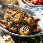 Spanish Garlic Shrimp with Paprika Tapas
