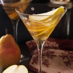 Spiced Double Pear Martini