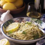 Simple and Quick Anchovy, Garlic, and Lemon Pasta