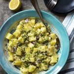 Potato Salad with Olives and Capers