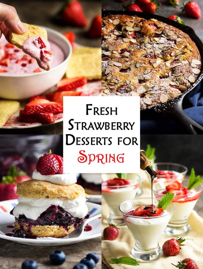 Fresh Strawberry Desserts for Spring
