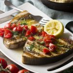Grilled Sicilian Swordfish with Oregano and Summer Squash