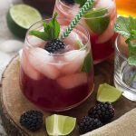 Refreshing and Summery Blackberry Mojito