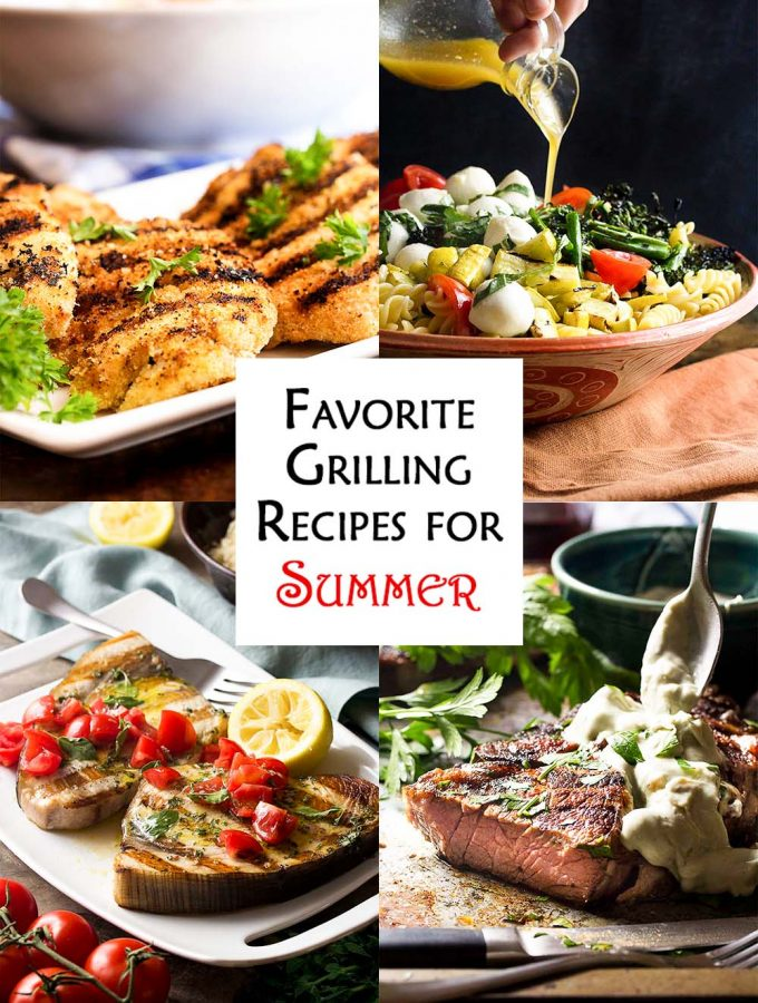 When it's too hot to cook inside that's when you need some tried and true grilling recipes! These are six of my favorites, from weeknights to holidays.