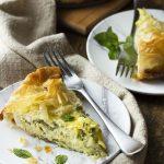 Kolokithopita (Greek Zucchini Feta Pie)