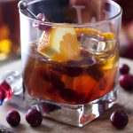 Bourbon Cranberry Old Fashioned