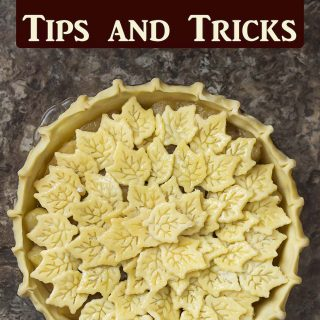 Looking to up your pie game or maybe you're not sure where to start? Here is a collection of pie tips and tricks to improve your pie baking from organization to finishing touches. | justalittlebitofbacon.com #thanksgiving #thanksgivingpie #thanksgivingdessert #holiday #holidaydessert #pie