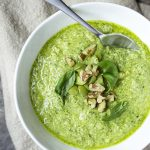Simple Homemade Green Olive Pesto