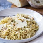 Pasta with Browned Cabbage and Breadcrumbs