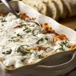 Vegetarian Baked Penne with Burrata