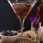 Classic Manhattan Cocktail with Amarena Cherries