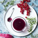 Fresh Red Currant Sauce for Meat and Fish