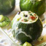 Vegetarian Mexican Stuffed Zucchini