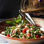 Italian Green Bean and Tomato Salad with Balsamic Dressing