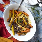 Honey Roasted Carrots with Balsamic and Walnuts