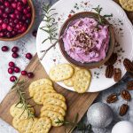 Pecan Cranberry Goat Cheese Spread