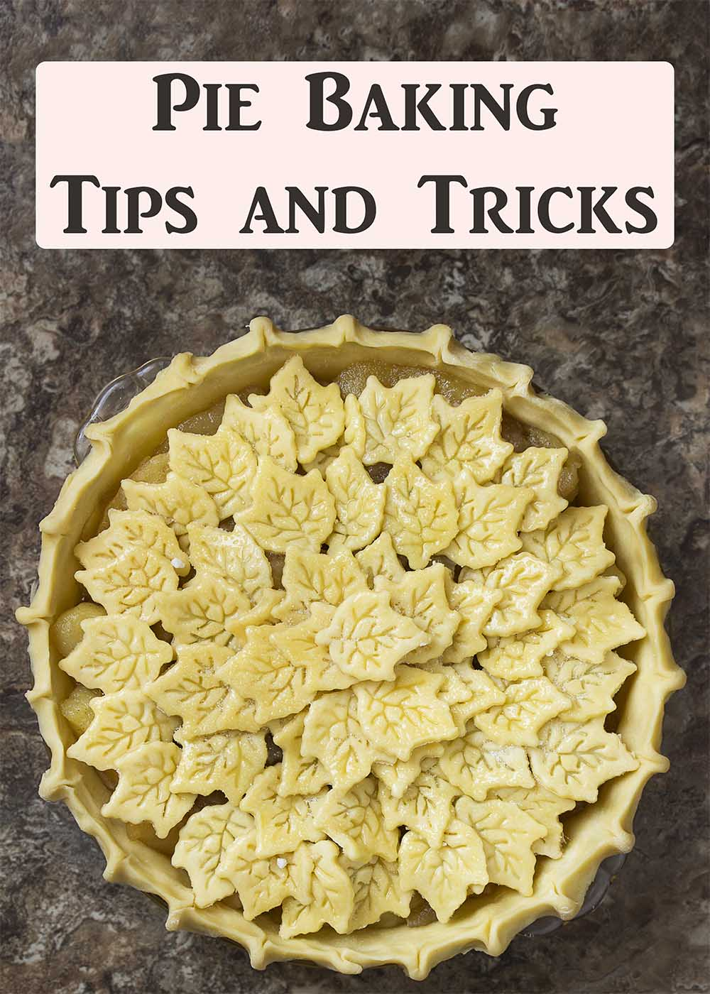 Pie Baking Tips Title Image
