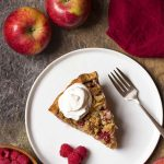 Apple Raspberry Pie with Crumb Topping