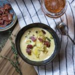 Smoky Bacon Cheddar Cheese Soup