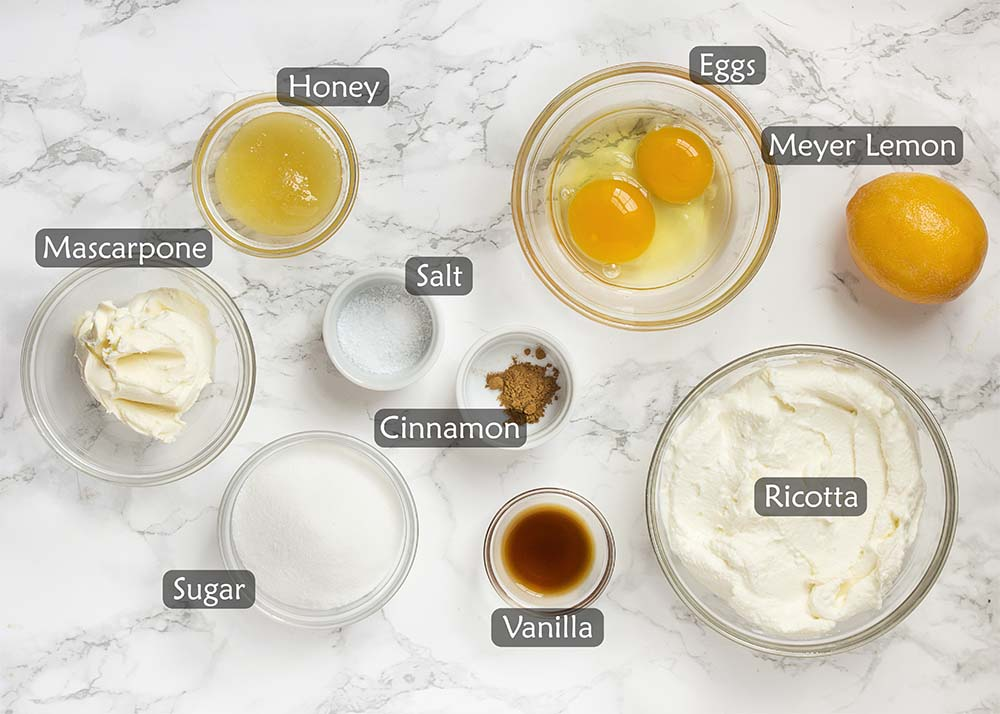Ingredients for the recipe.