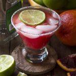 Homemade Blood Orange Margarita
