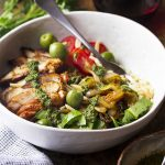 Moroccan Chicken and Rice Bowl