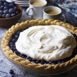 Aunt Yolanda's Fresh Blueberry Pie