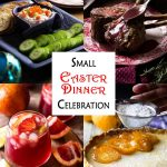 Small Easter Menu with Rack of Lamb