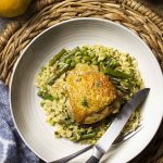 One Pot Chicken and Orzo with Mixed Vegetables